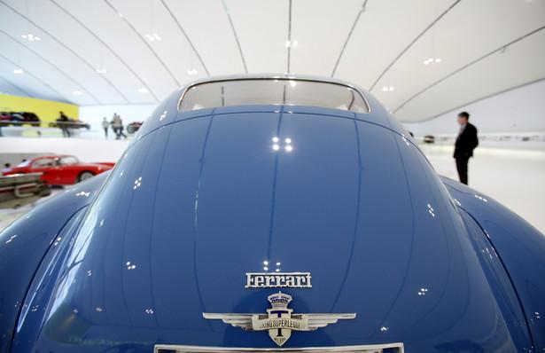 Ferrari 166 MM Coupe Touring z 1949 roku w muzeum Enzo Ferrari we włoskiej Modenie.