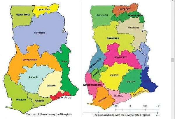 Creation Of New Regions