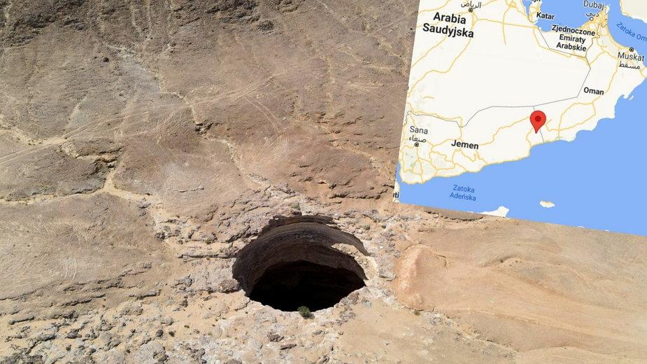 """Jemen: Tajemnicza """"Studnia Piekła"""". Niebezpieczna dziura i opowieści o demonach"""