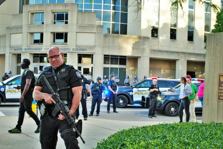 Ohajo SAD policija