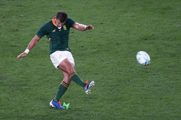 South Africa's fly-half Handre Pollard played the last time the two teams met in a World Cup