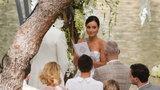 Wzruszający moment na weselu Mariny i Szczęsnego