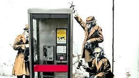 Słynne grafitti Banksy'ego zniknęło z budynku w Cheltenham