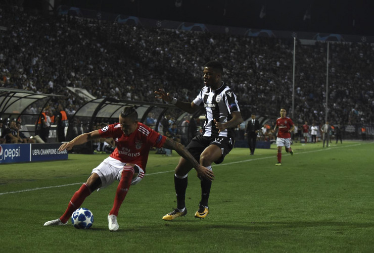 FK Benfika, FK PAOK