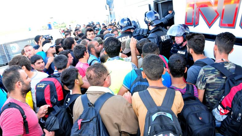 Imigranci w Chorwacji