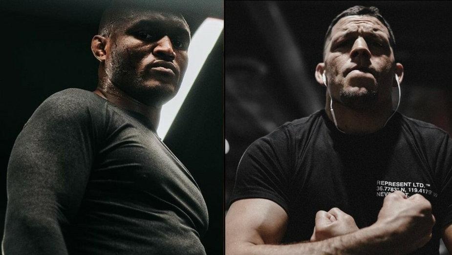 Usman jest przekonany, że Nate Diaz nie będzie chciał z nim walczyć