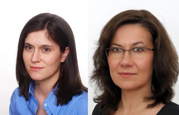 Katarzyna Pietruszyńska i Halina Tuwin