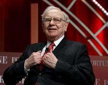 Fundusz Warrena Buffetta Berkshire Hathaway wart jest ponad 450 miliardów dolarów