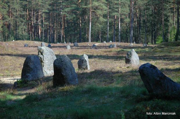 Kamienne kręgi w Odrach