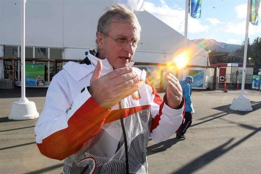 Trener Adama Małysza Fin Hannu Lepistoe jest wściekły na warunki jaki zastał w wiosce olimpijskiej