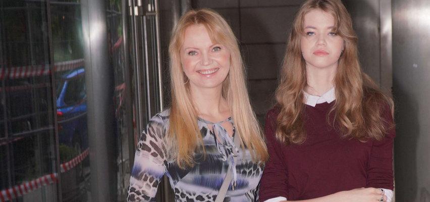 """Olga Borys zabrała córkę do """"Dzień Dobry TVN"""". Czy 15-letnia Mira zamierza pójść w ślady słynnych rodziców?"""