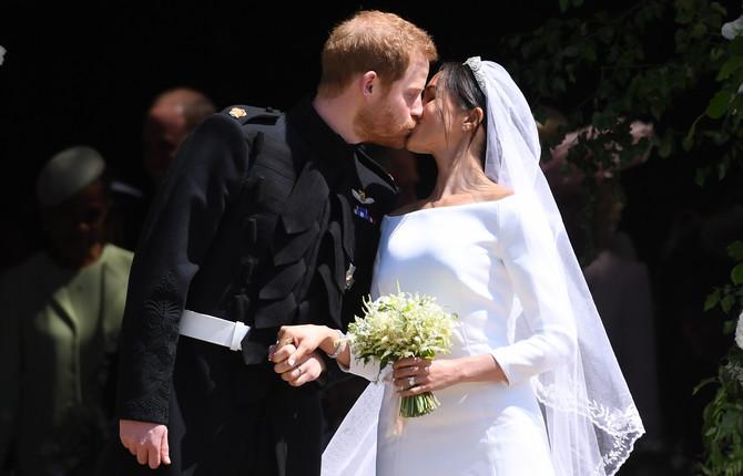 Hari i Megan su se danas jedno drugom zavetovali na večnu ljubav