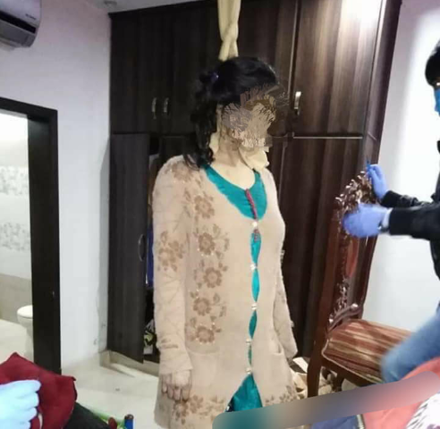 Lawyer hangs 8-month pregnant wife for refusing to abort baby because it's a girl