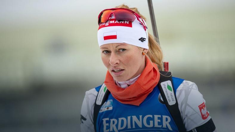Nowakowska cierpiała na trasie biegu pościgowego