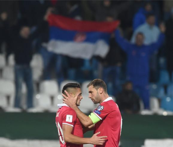 Na putu ka Mundijalu: Dušan Tadić i Branislav Ivanović
