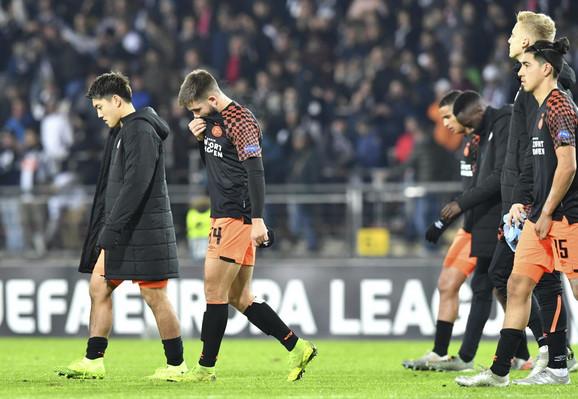 Tuga igrača PSV-a