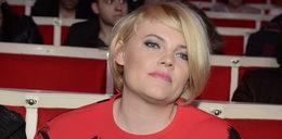 Ania Dąbrowska wróciła na salony po rozwodzie
