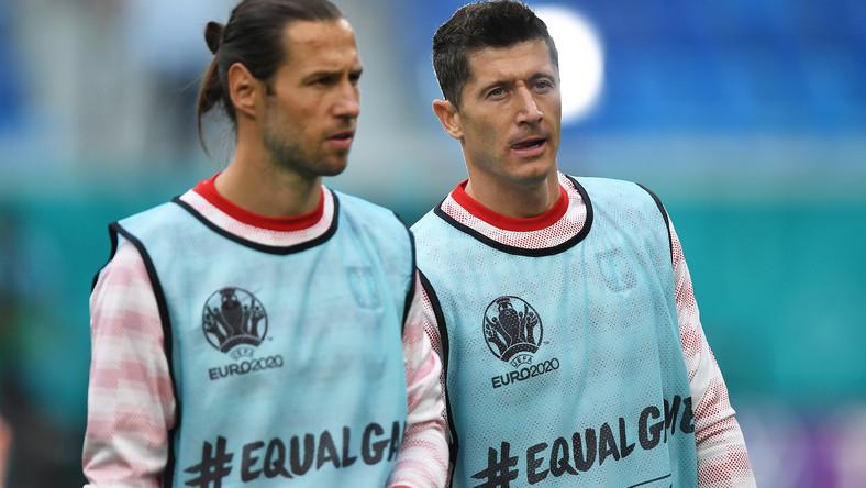 Grzegorz Krychowiak i Robert Lewandowski