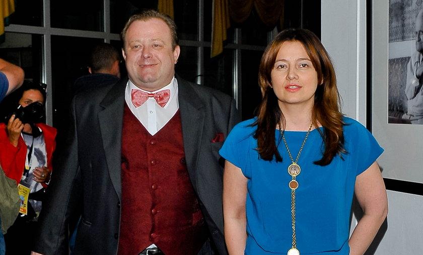Olaf Lubaszenko z partnerka