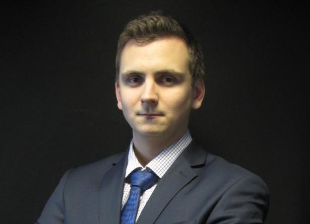 Mateusz Adamkiewicz, analityk XTB