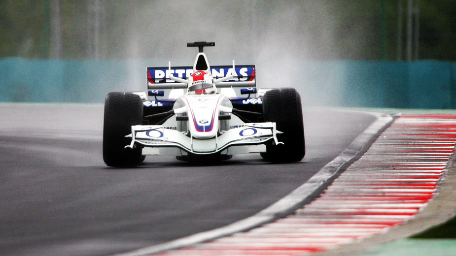 Robert Kubica podczas Grand Prix Węgier 2006