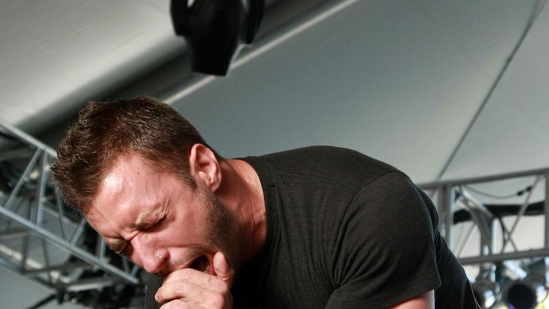 The Dillinger Escape Plan na koncercie (fot. Getty Images)