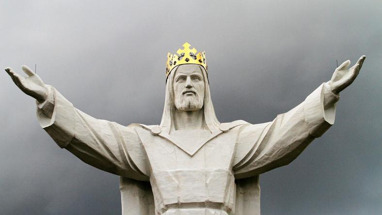 Pomnik Chrystusa Króla w Świebodzinie, fot. Mateusz Skwarczek / Agencja Gazeta