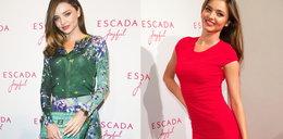Miranda Kerr na imprezie Escady