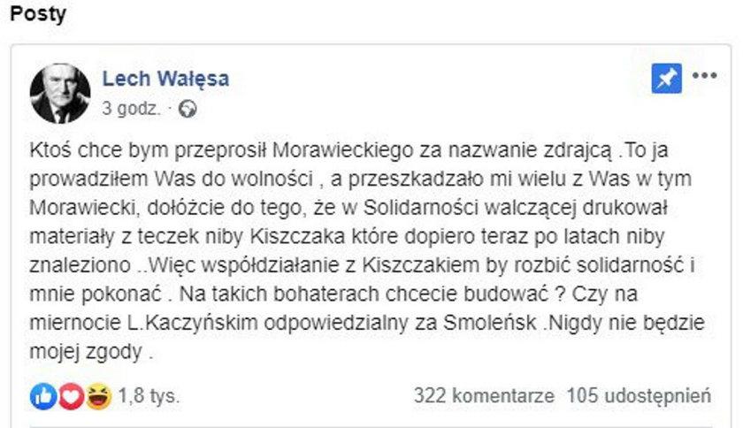 Wałęsa się doigrał?! Tego Polacy mu nie darują