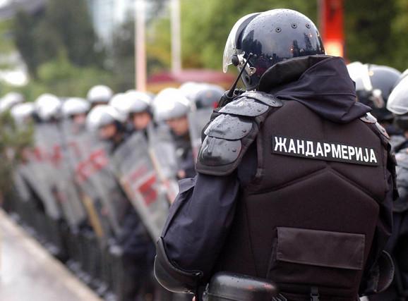 Žandarmerija predstavlja policijske jedinice organizovane kao vojne formacije