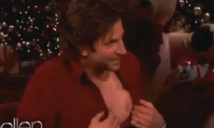 Bradley Cooper ma pięć sutków