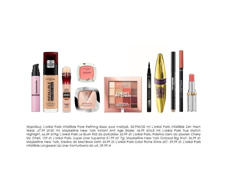 Kosmetyki do wykonania świątecznego makijażu