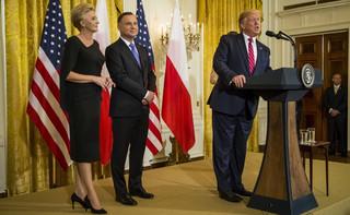 Amerykańskie media o spotkaniu Trump-Duda: sukces Polski kosztem Niemiec