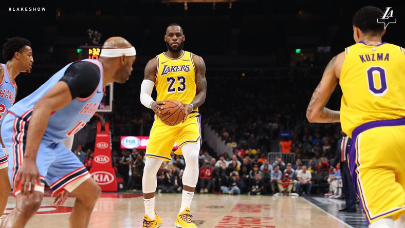 901c15fe5fb1 Lakers in danger of missing NBA playoffs after loss to Hawks - Pulse ...
