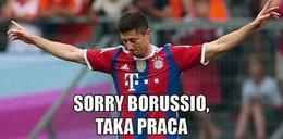 Lewandowski skarcił byłych kolegów! Memy po meczu Bayern - Borussia! GALERIA