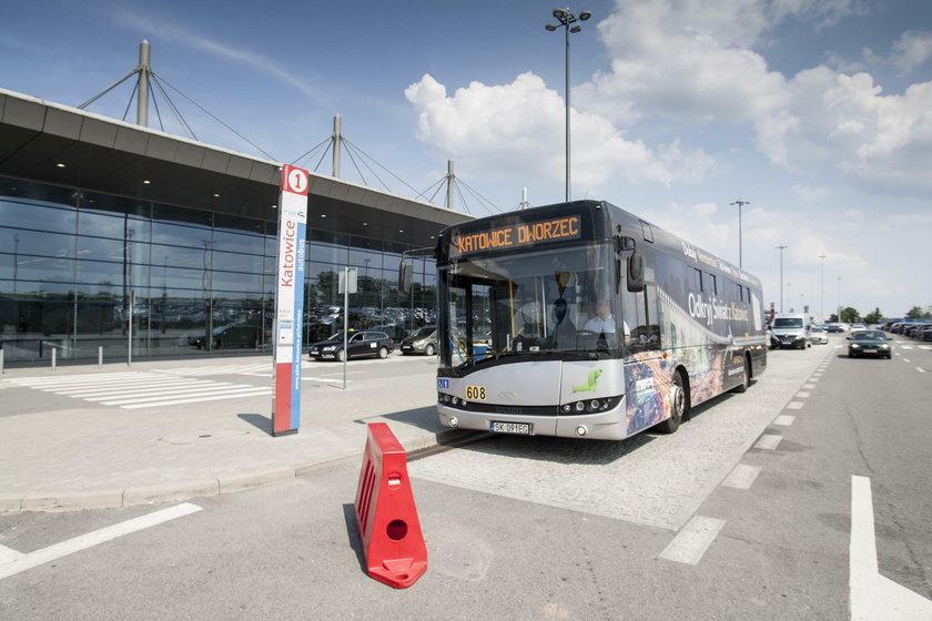 Katowice. Nowe linie autobusowe na lotnisko w Pyrzowicach