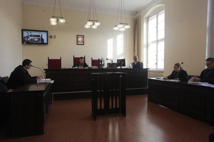 Rozprawa w Sądzie Okręgowym w Gdańsku