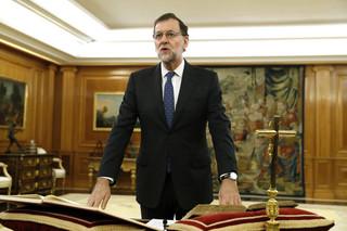 Hiszpania: Rajoy zaprzysiężony na premiera