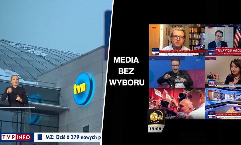 """""""Wiadomości"""" TVP odpowiedziały na materiał wyemitowany w """"Faktach"""" TVN."""