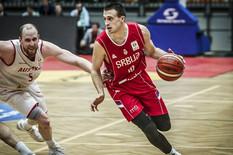 Košarkaška reprezentacija Srbije, Košarkaška reprezentacija Austrije