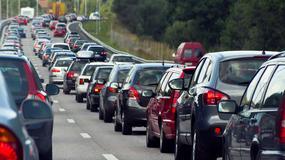 Wypadek na autostradzie A2 - utrudnienia w ruchu w stronę Warszawy