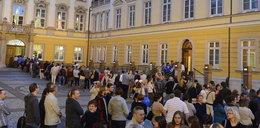 Tłumy podczas Nocy Muzeów
