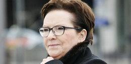 Ewa Kopacz ma okulary jak z gazety