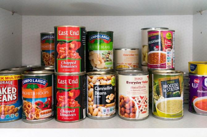 Konzervirana hrana može trajati godinama