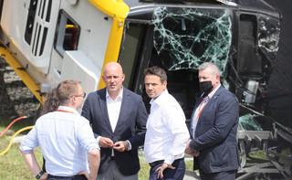Wypadek autobusu miejskiego w Warszawie. Trzaskowski: Powołamy specjalną komisję