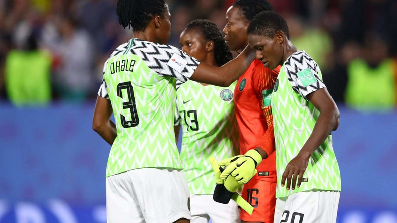 Super Falcons of Nigeria fell to a slim 1-0 loss to France  (Getty Images)