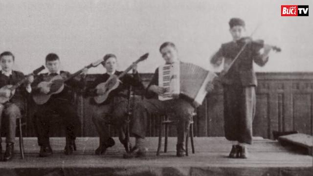 Aleksandar Kerenji u mladosti