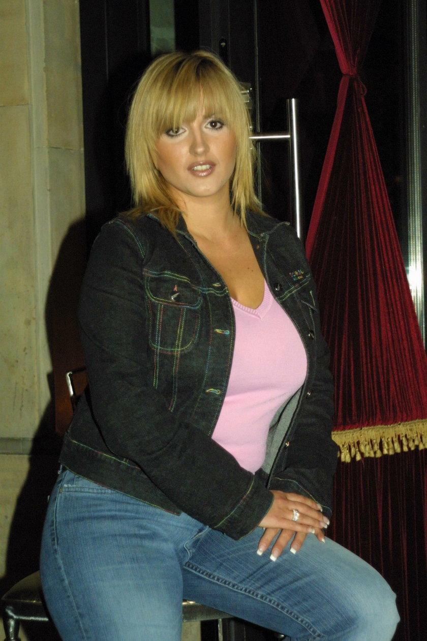 Karolina Szostak w 2003 roku