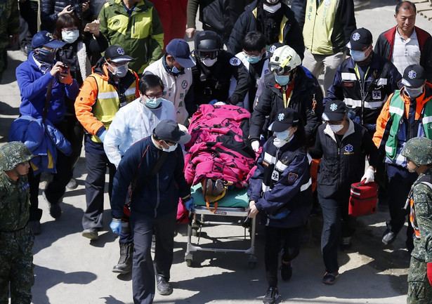 Tajwan: Trzęsienie ziemi