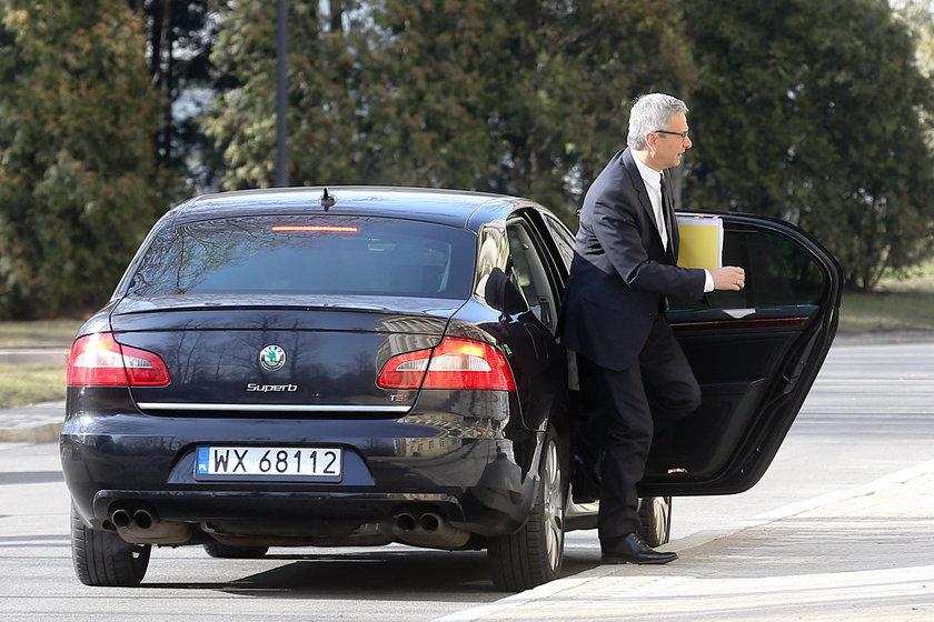 Andrzej Biernat, minister sportu i p.o. sekretarza generalnego w PO